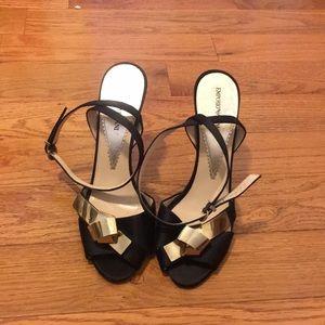 Emporio Armani heeled Sandals